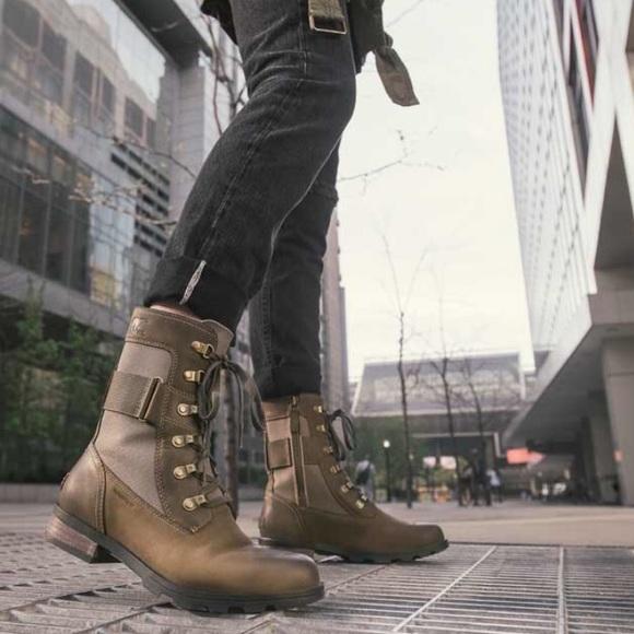 Sorel Emelie Conquest Combat Boots